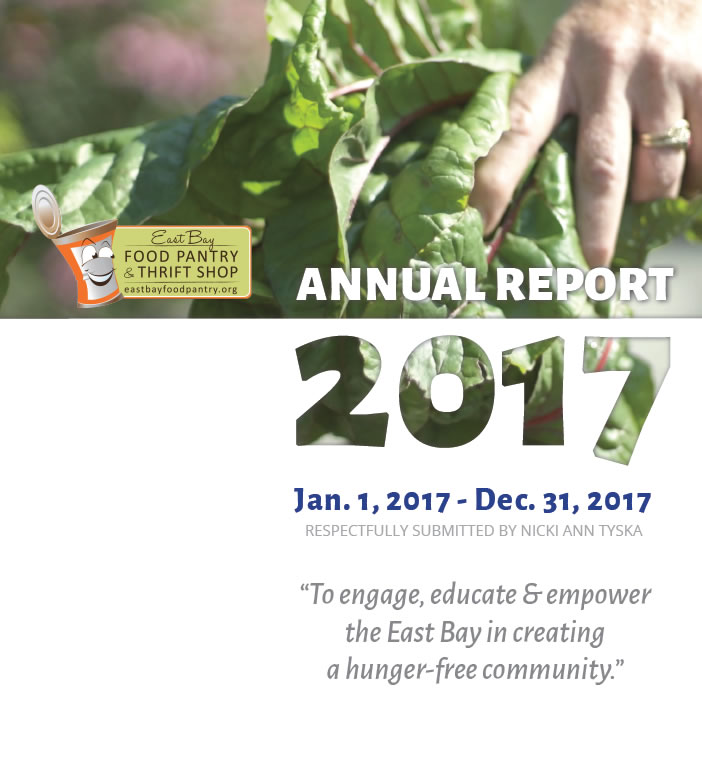 2017 East Bay Food Pantry Annual Report