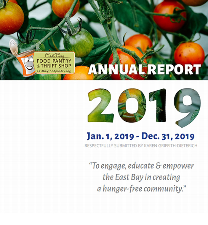 2019 East Bay Food Pantry Annual Report
